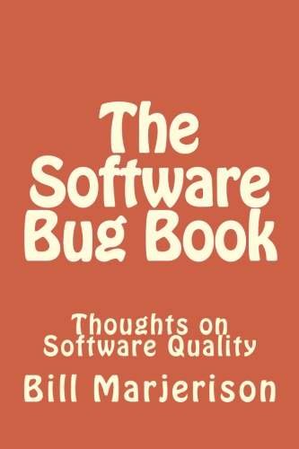 The Software Bug Book paperback cover image